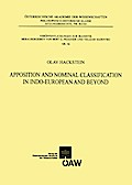 Apposition and Nominal Classification in Indo-European and Beyond - Olav Hackstein