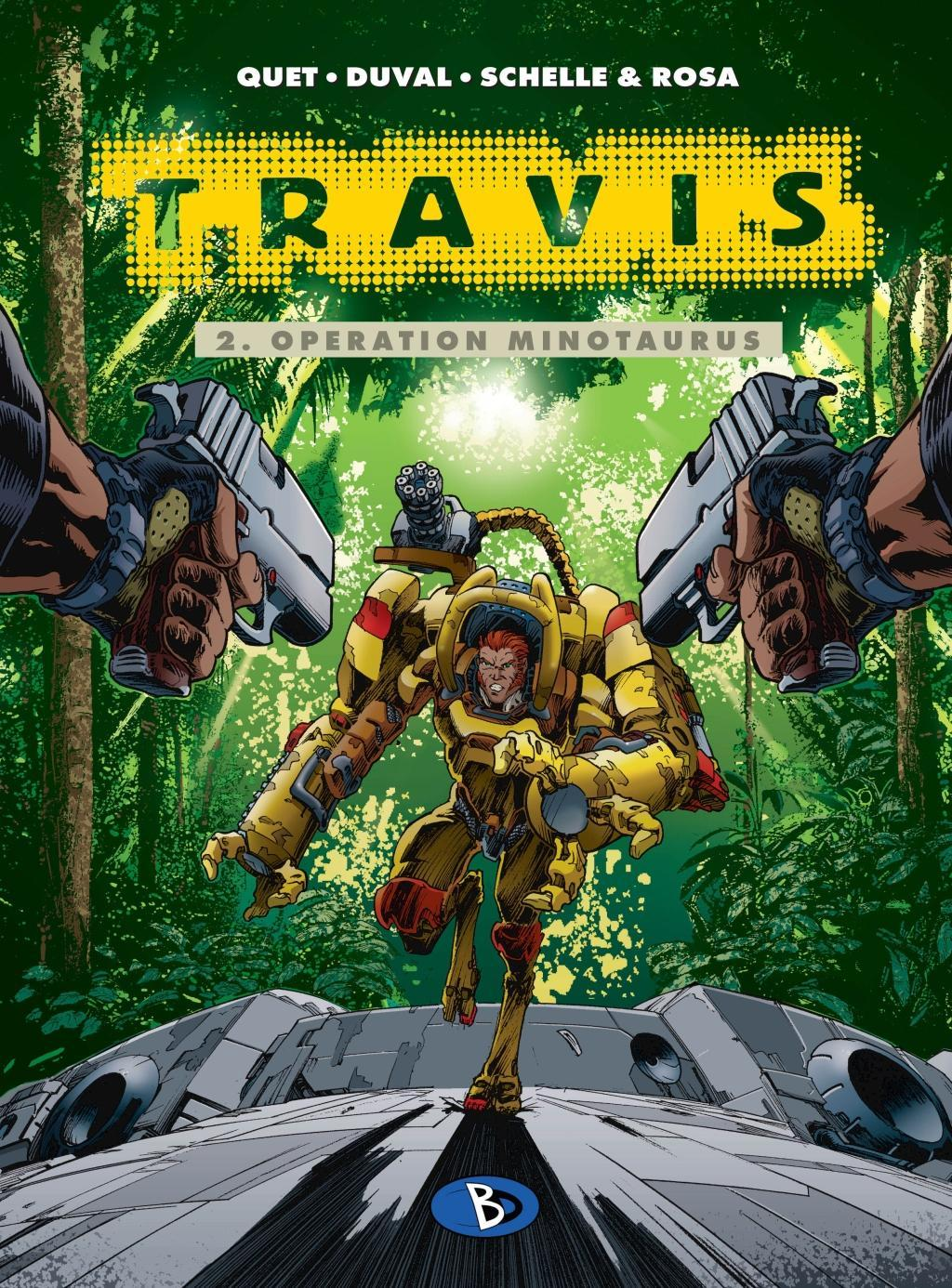 Travis 02. Operation Minotaurus Fred Duval