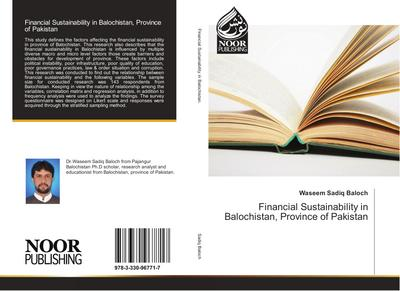 Financial Sustainability in Balochistan, Province of Pakistan
