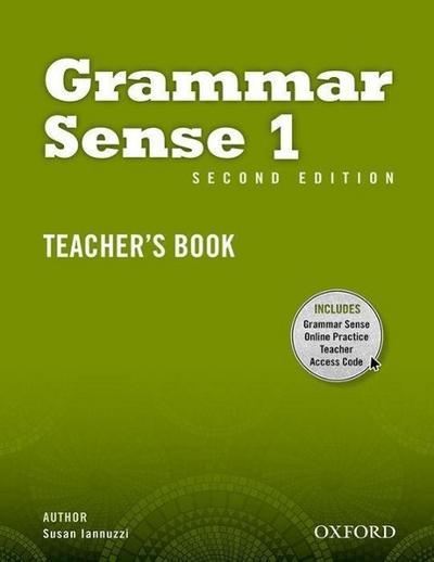 Grammar Sense 1. Teacher's Book with Online Practice Access Code Card