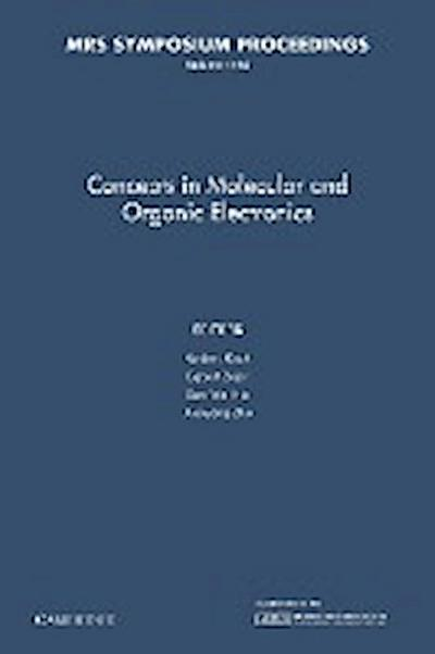 Concepts in Molecular and Organic Electronics: Volume 1154
