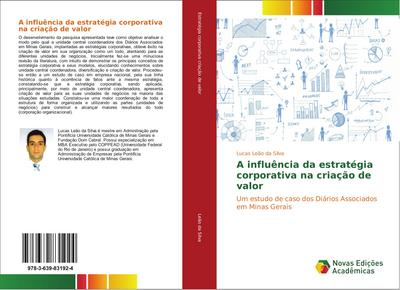 A influência da estratégia corporativa na criação de valor
