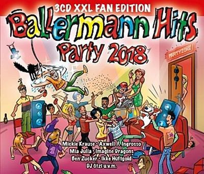 Ballermann Hits Party 2018, 3 Audio-CDs (XXL Fan Edition)
