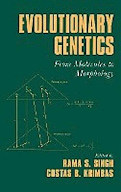 Evolutionary Genetics: From Molecules to Morphology