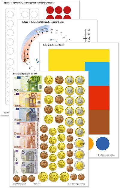 Das Mathebuch 1 - Arbeitsbeilagen · Ausgabe Bayern: passend zum Schülerbuch  978-3-619-15470-8