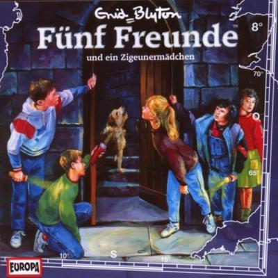 Fünf Freunde 008: ... und ein Zigeunermädchen