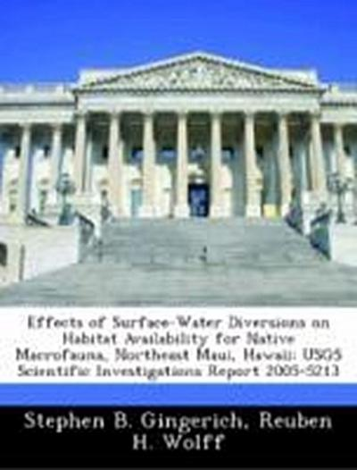 Gingerich, S: Effects of Surface-Water Diversions on Habitat