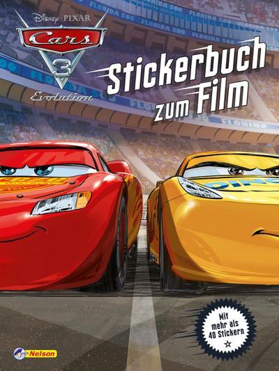Disney Cars 3 : Stickerbuch zum Film; Disney Cars; Deutsch; Keine Altersbeschränkung
