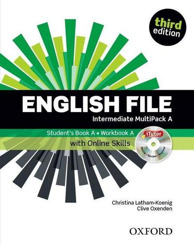 English File: Intermediate. MultiPACK A with iTutor and Online Skills