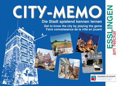 CITY-MEMO Esslingen am Neckar: Die Stadt spielend kennen lernen