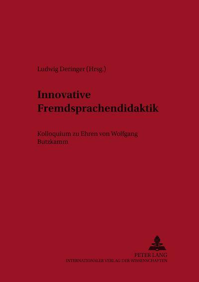 Innovative Fremdsprachendidaktik