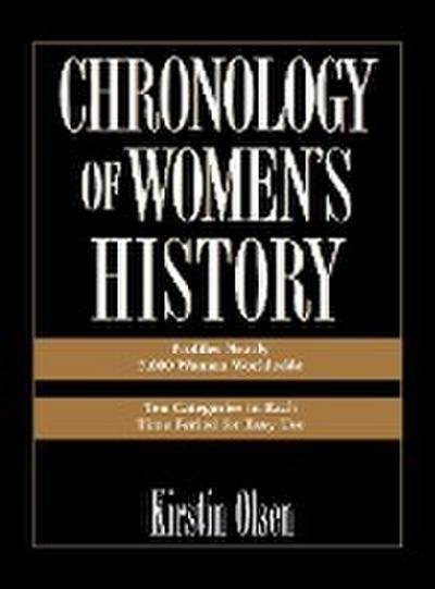Chronology of Women's History