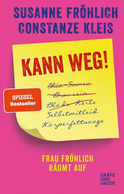 Kann weg!; Frau Fröhlich räumt auf; Gräfe und Unzer Einzeltitel; Deutsch