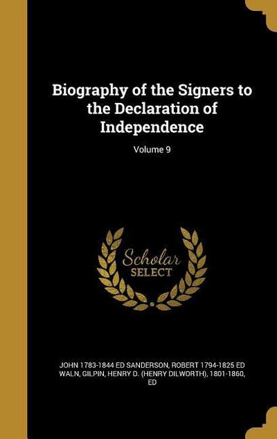 BIOG OF THE SIGNERS TO THE DEC