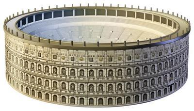 Ravensburger 12578 - Kolosseum - 3D Puzzle Bauwerke, 216 Teile