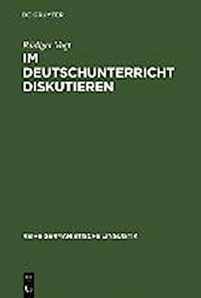 Im Deutschunterricht diskutieren