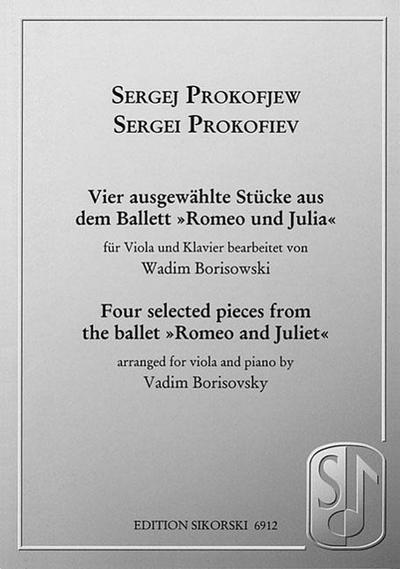 Prokofiev: Vier Ausgewahlte Stucke Aus Dem Ballett