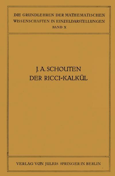 Der Ricci-Kalkül