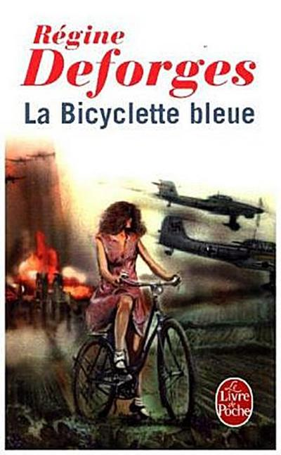 La bicyclette bleue. Das blaue Fahrrad, französische Ausgabe