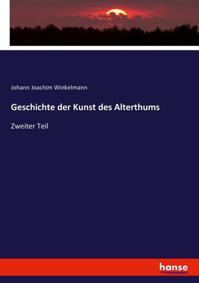 Geschichte der Kunst des Alterthums