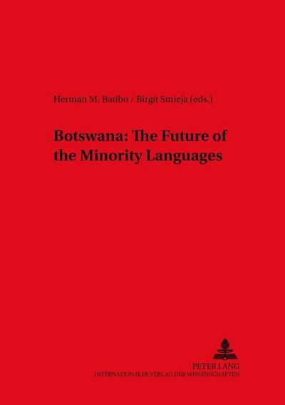 Botswana: The Future of the Minority Languages
