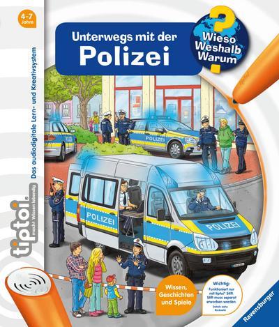 tiptoi® Unterwegs mit der Polizei