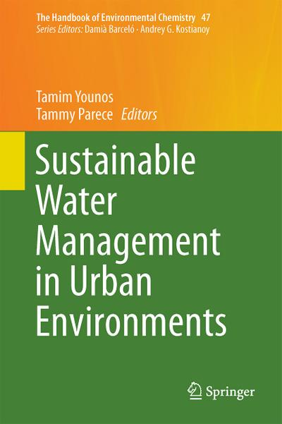 Sustainable Water Management in Urban Environments