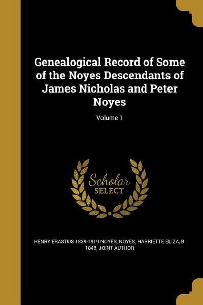 GENEALOGICAL RECORD OF SOME OF