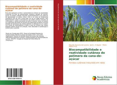 Biocompatibilidade e reatividade cutânea do polímero da cana-de-açúcar