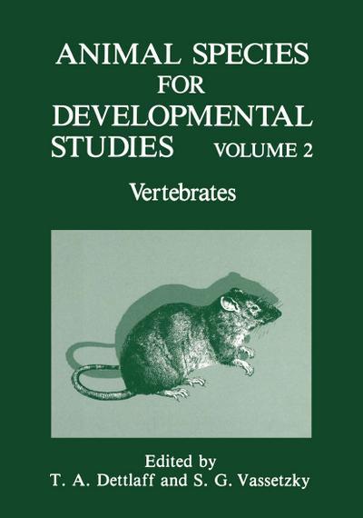 Animal Species For Developmental Studies