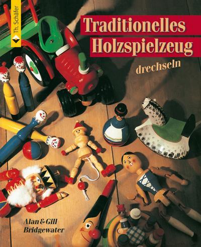Traditionelles Holzspielzeug drechseln