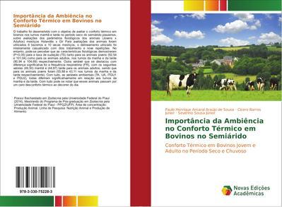 Importância da Ambiência no Conforto Térmico em Bovinos no Semiárido