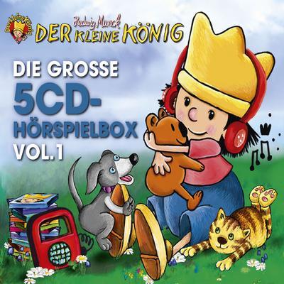 Der kleine König - Die große 5-CD Hörspielbox Vol. 1