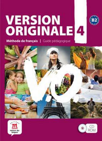 Version originale B2. Guide pédagogique (CD-ROM)