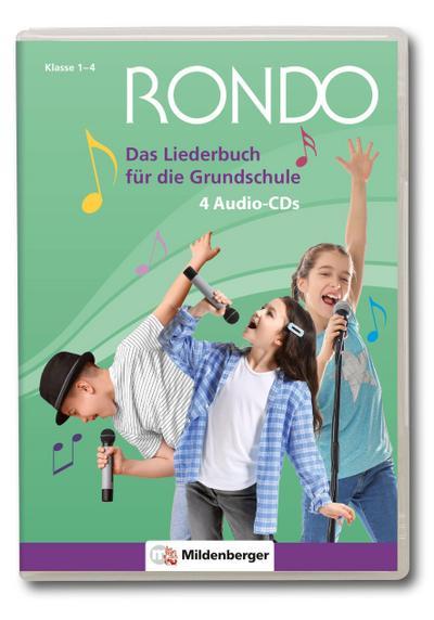 RONDO - Das Liederbuch für die Grundschule - 4 Audio CDs