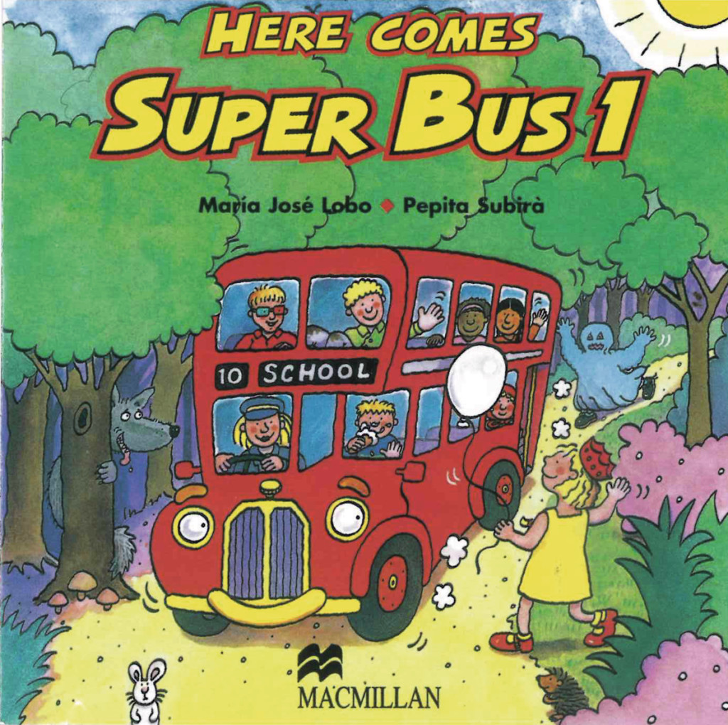 Here comes Super Bus 1. 2 Audio-CD's Maria José Lobo