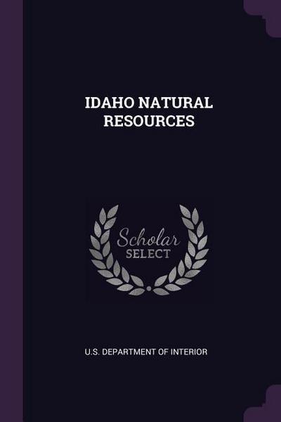 Idaho Natural Resources