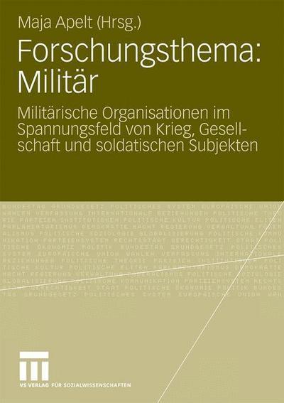 Forschungsthema: Militär
