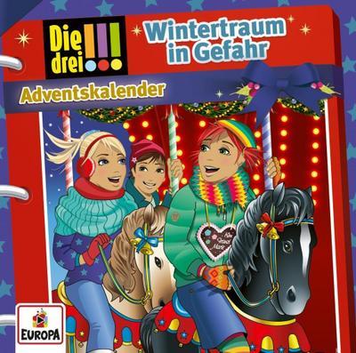 Die drei !!! - Wintertraum in Gefahr (2 Audio-CD's) - Adventskalender