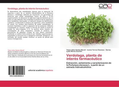 Verdolaga, planta de interés farmacéutico