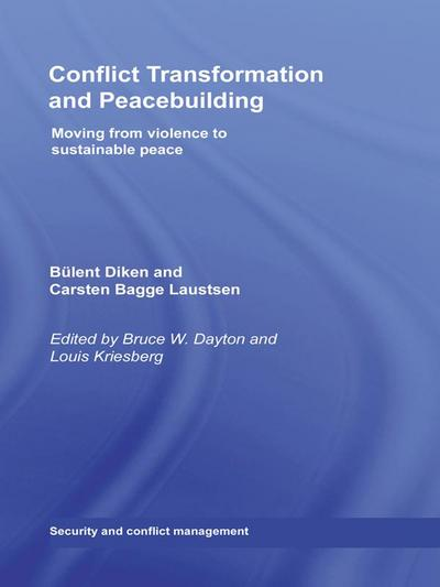 Conflict Transformation and Peacebuilding