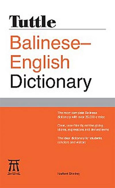 Tuttle Balinese-English Dictionary