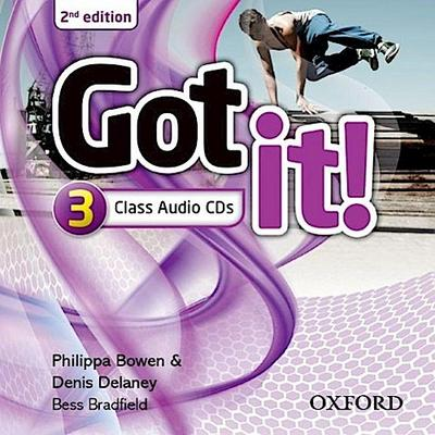 Got It: Level 3: Class Audio CD (2 Discs)