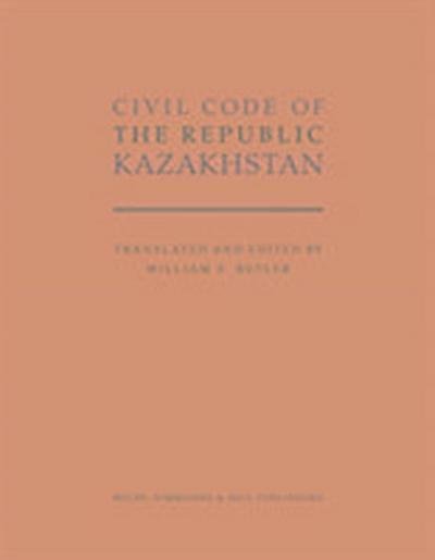 Civil Code of the Republic Kazakhstan