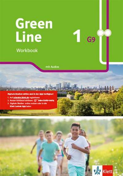 Green Line 1 G9. Workbook mit Audios Klasse 5