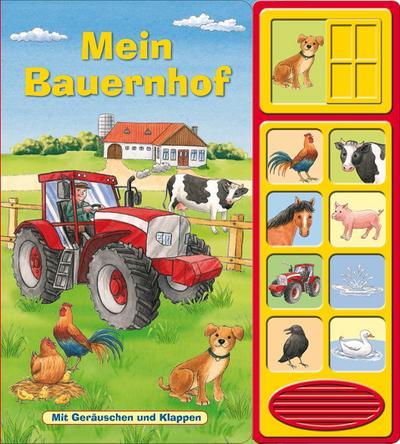 Mein Bauernhof. Klappen-Geräusche Buch