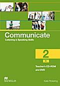 Communicate 02. Teacher's CD-ROM and DVD Pack ...