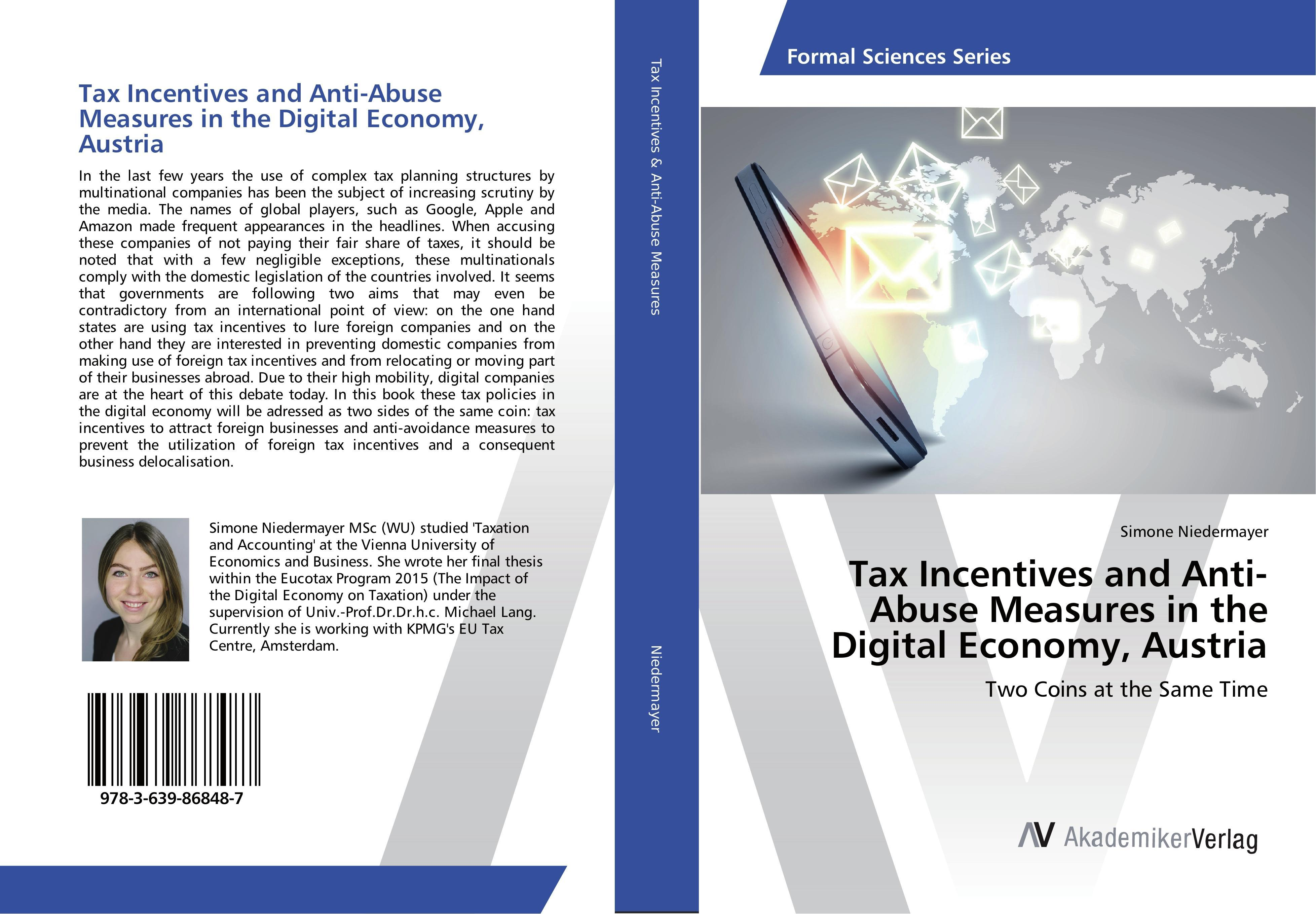 Tax Incentives and Anti-Abuse Measures in the Digital Econom ... 9783639868487