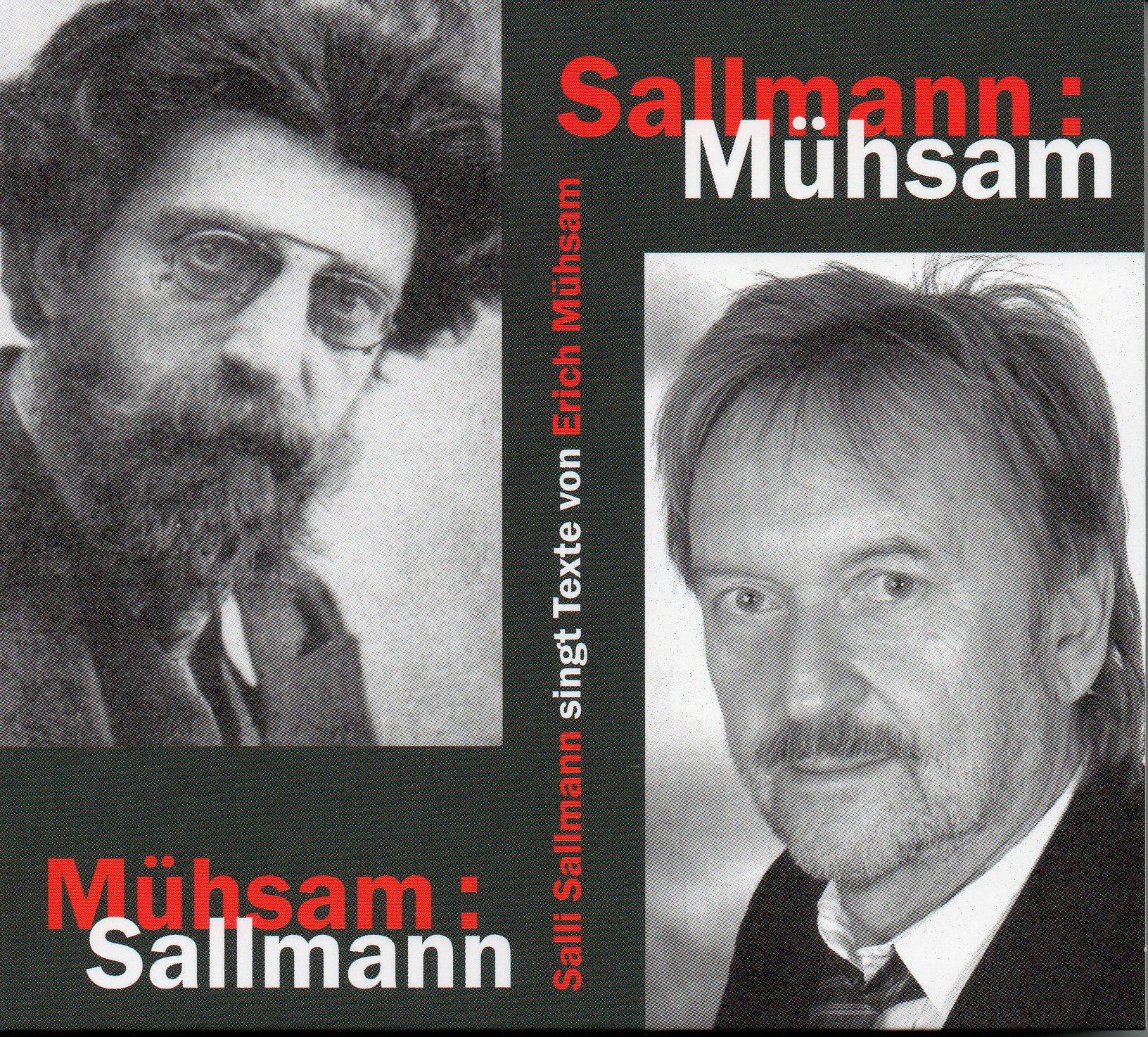 Sallmann singt Erich Mühsam, 1 Audio-CD Salli Sallmann