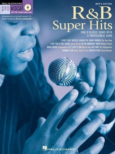R&B Super Hits: Pro Vocal Men's Edition Volume 6